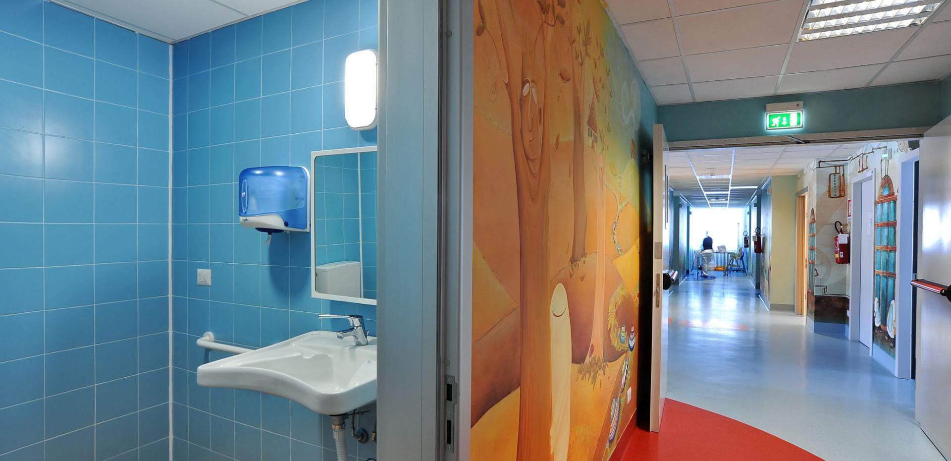 Reparto pediatrico Ospedale Causa Pia Luvini - Cittiglio (VA)