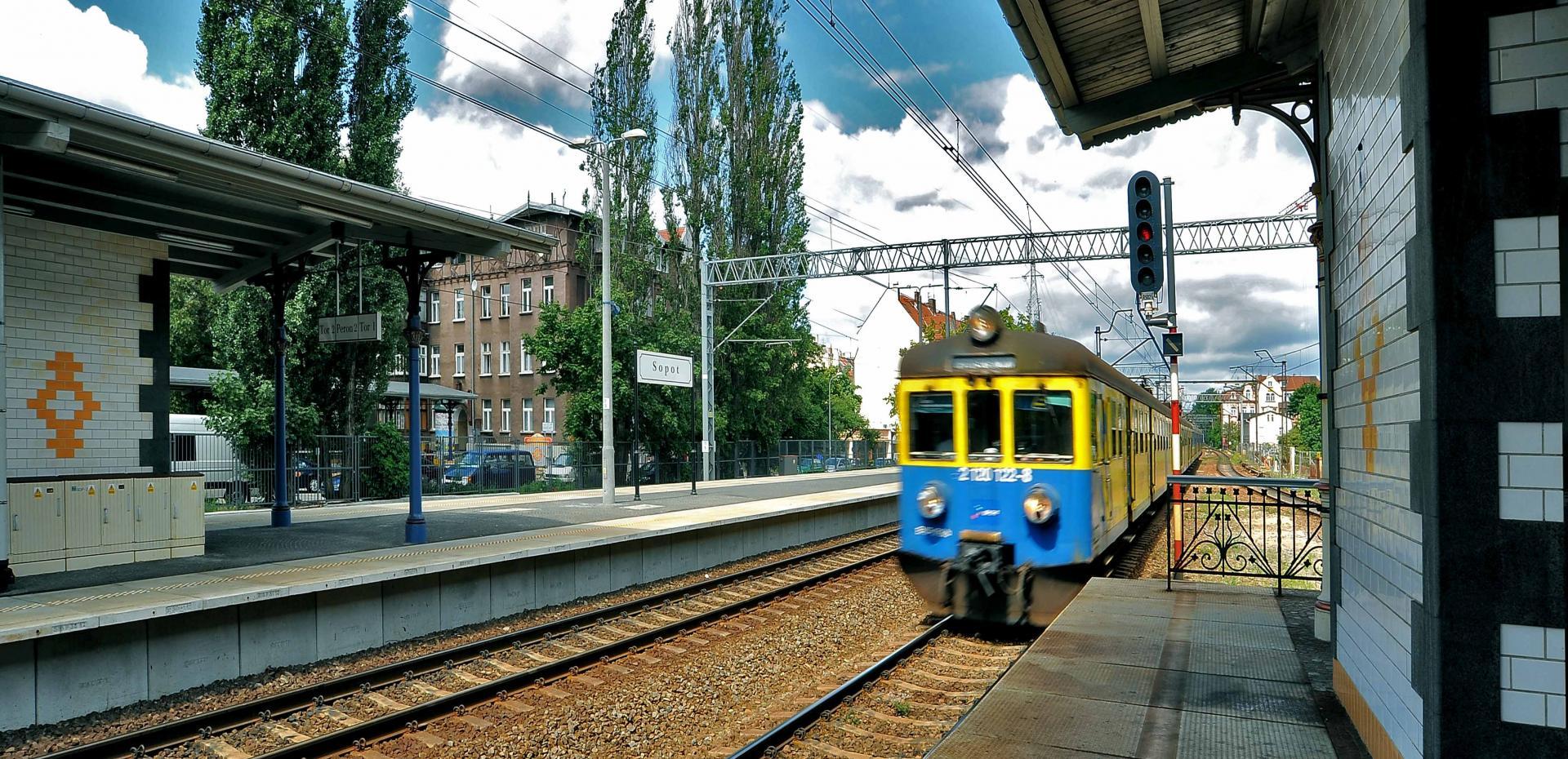 Stazione Sopot - Danzica - Polonia