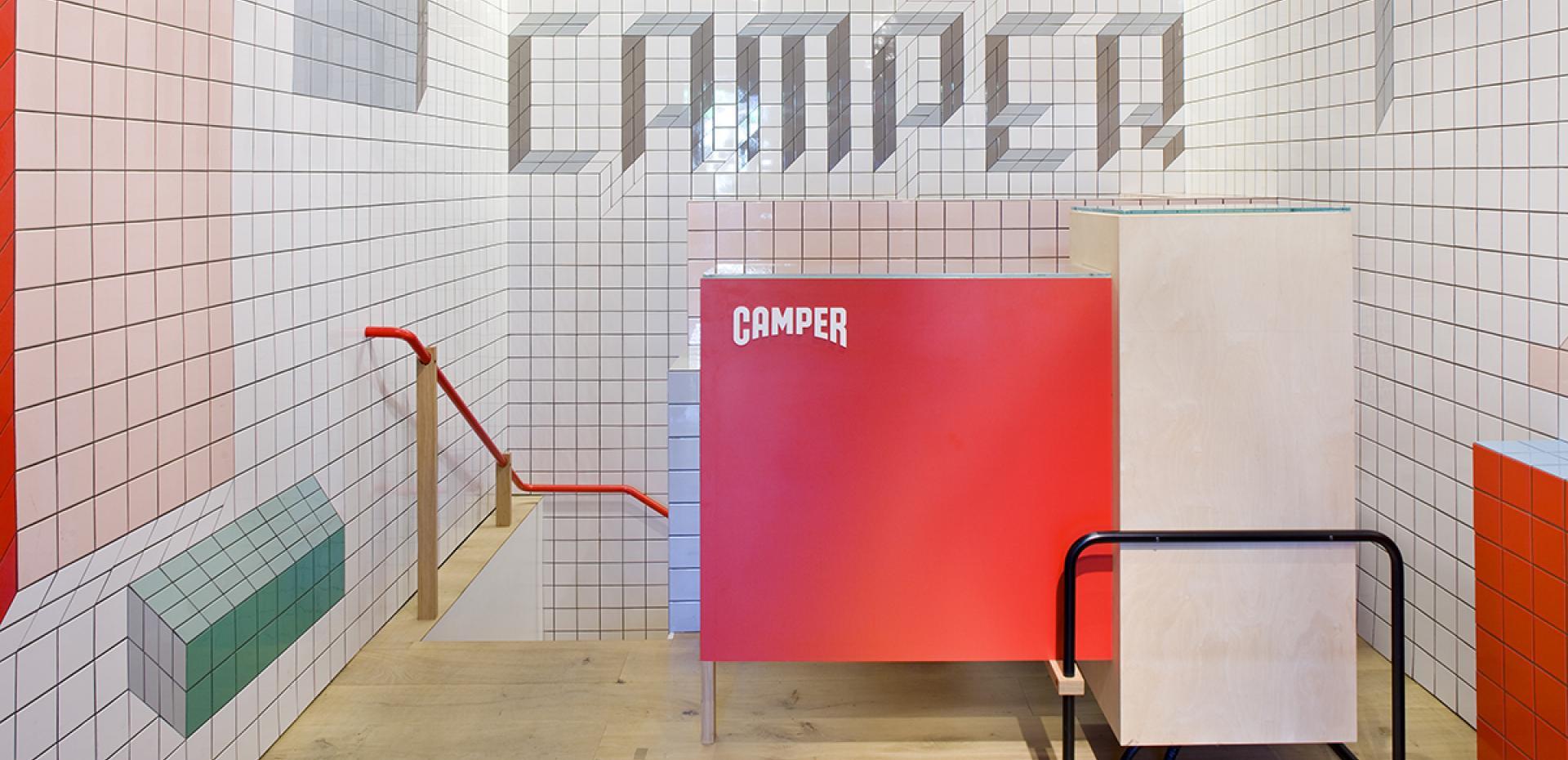Negozio CAMPER Londra - Regno Unito